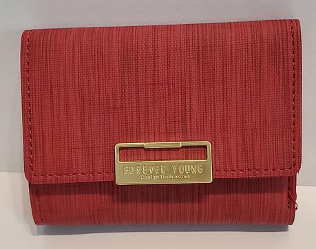 Гаманець жіночий С216-49 (9*11*2) червоний, фото 2