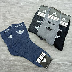 Мужские носки махровые высокие тёплые sport a 40-44р ассорти, 30032186