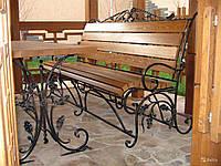 Купить кованную скамейку