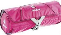Яркая дорожная женская косметичка Deuter Wash Bag Roll 39440 5505 розовый