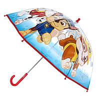 Детский прозрачный зонтик Щенячий Патруль 45 см
