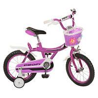 Велосипед Профи BX406 Ангел 14 дюймов Profi Angel  велосипед двухколесный с корзинкой