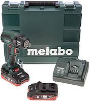 Акумуляторний ударний гайковерт Metabo SSW 18 LTX 400 BL (2х18 В, 5.2 А*год) (602205650)
