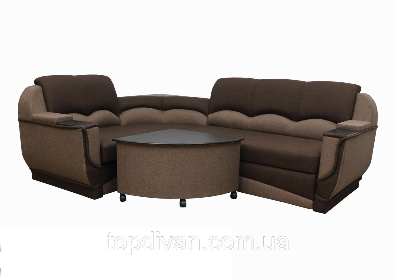 """Кутовий диван """"Марселло"""". Люкс (тканина 35)"""