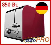 Німецький тостер SilverCrest STS 850 D1 red metallic, фото 1