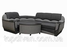 """Угловой диван """"Марселло"""".  (угол взаимозаменяемый) Люкс (ткань 34)"""