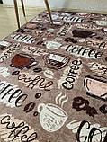"""Килимок для кухні """"Coffee"""" 140 190 см, фото 4"""