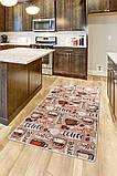 """Килимок для кухні """"Coffee"""" на 120 180 см, фото 2"""