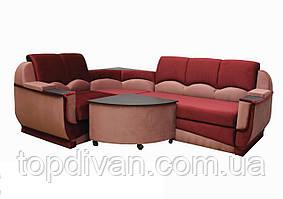 """Кутовий диван """"Марселло"""". (кут взаємозамінний) Велюр (тканина 4)"""