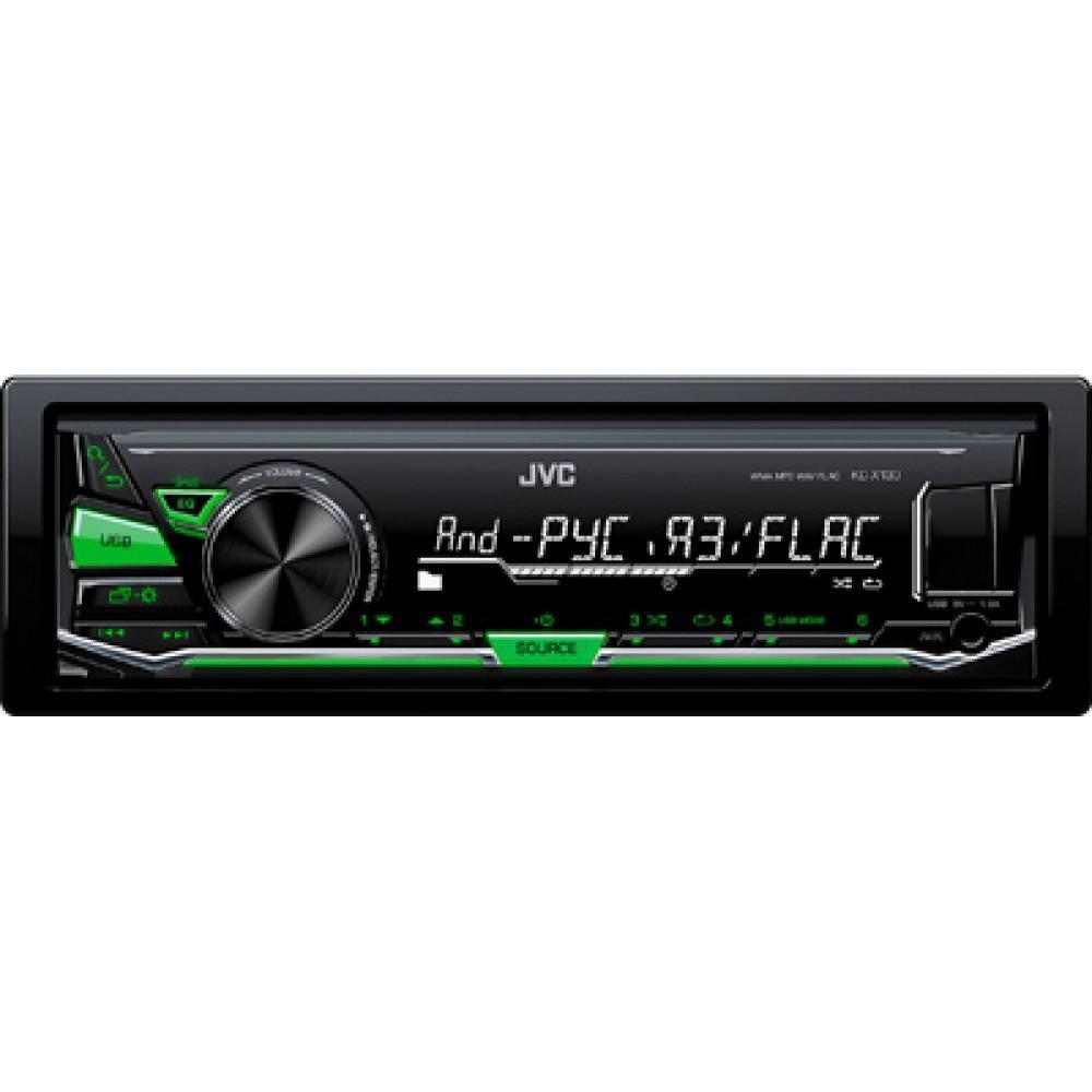 Автомагнитола JVC KD-X130Q (без диска)