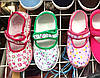 Сменная обувь оптом розовые цветочки