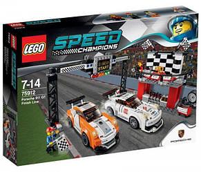 Lego Speed Champions Финишная линия гонки Porsche 911 GT 75912