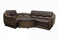 """Угловой диван """"Марселло"""". (угол взаимозаменяемый) Велюр прессованный (ткань 9), фото 1"""