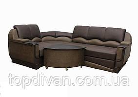"""Кутовий диван """"Марселло"""". (кут взаємозамінний) Велюр пресований (тканина 9)"""
