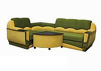 """Угловой диван """"Марселло"""". (угол взаимозаменяемый) Микровелюр (ткань 14), фото 1"""