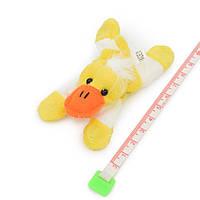 Магнит декоративный мягкая игрушка 9х5х3 см уточка желтая (42203.006)