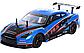 Машина на радіокеруванні, гоночна машина на пульті управління YILE TOYS YL-01, синя, в коробці, фото 2