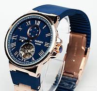 Стильные мужские часы Ulysse Nardin, часы механические, элитные наручные часы, мужские наручные часы ulysse