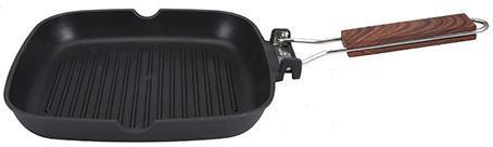 Сковорода-гриль San Ignacio Ordesa 24х24см зі складною ручкою