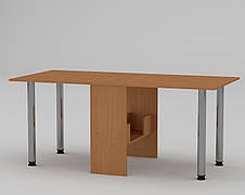 """Раскладной стол-книжка с металлическими ножками  """"Книжка 2"""" МФ Компанит, фото 2"""