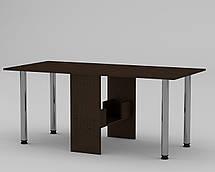 """Раскладной стол-книжка с металлическими ножками  """"Книжка 2"""" МФ Компанит, фото 3"""