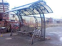 Лавки и скамейки металлические для дачи