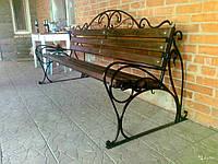 Купить скамейку садовую деревянную