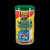 Корм для прудовых рыб Tetra pond koi Premium Mix 1 л корм для всех видов кои