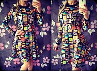 """Женское стильное платье """"Фото"""", фото 1"""