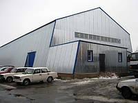 Изготовление и монтаж ангаров и складов из своих материалов ООО НПП Укрпромтехсервис за 21 год работы изготови