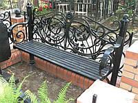 Садовые деревянные скамейки