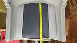 Крісло для човни ПВХ пластикове з м'якими вставками колір сірий, фото 5