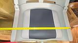 Крісло для човни ПВХ пластикове з м'якими вставками колір сірий, фото 4