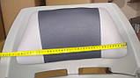 Крісло для човни ПВХ пластикове з м'якими вставками колір сірий, фото 7