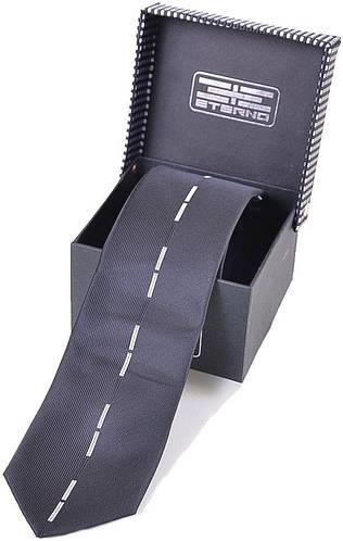Современный мужской шелковый галстук ETERNO (ЭТЕРНО) EG542 черный
