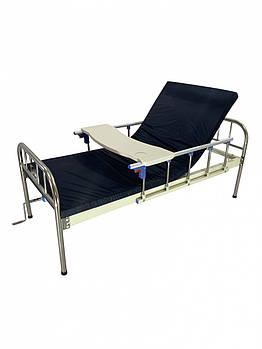 Медичне 2-секційне ліжко для лікарні, клініки, будинку