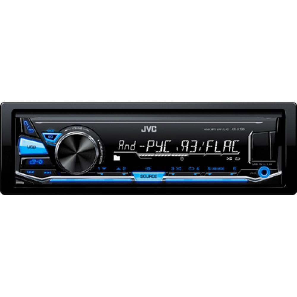 Автомагнитола JVC KD-X135Q (без диска)