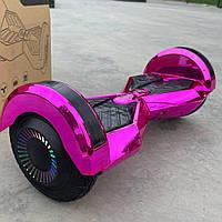 Надійний гироборд Smart Balance Pro 8 рожевий самобаланс   Гироскутер Смарт Баланс для дітей і дорослих