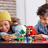 Конструктор LEGO MINECRAFT 21153 Шерстяная ферма, фото 4