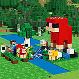 Конструктор LEGO MINECRAFT 21153 Шерстяная ферма, фото 5