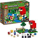 Конструктор LEGO MINECRAFT 21153 Шерстяная ферма, фото 3