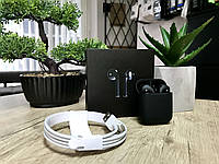 Наушники Apple AirPods 2 Black Матовые Original series 1:1 Bluetooth