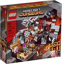 Конструктор LEGO Minecraft 21163 Битва за красную пыль.