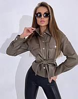 Куртка ЕКО шкіра жіноча весна-осінь 42-44 44-46