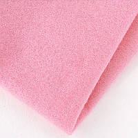 Фетр розовый, 100*80 см, 1 мм