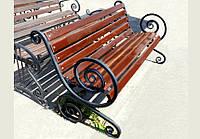 Лавочки скамейки своими руками для дачи