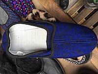 Женские тапочки оптом 35-42 синие, фото 1