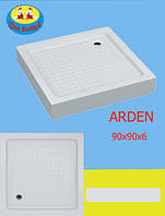 Поддон Акриловый Душевой Swan Arden 90х90х6