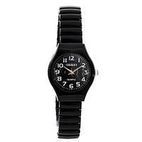 Часы наручные 3808-14 женские, Oriext, черные с белым