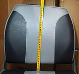Крісло для човнів і катерів посилене з м'якими вставками колір сірий, фото 6